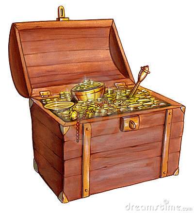 Free Treasure Chest Royalty Free Stock Photography - 2053887