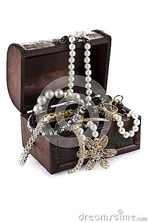 Free Treasure Chest Royalty Free Stock Photos - 21144398