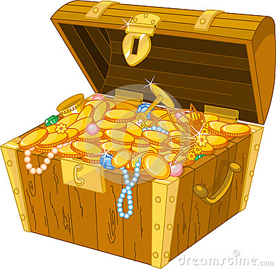 Free Treasure Chest Stock Image - 25235691