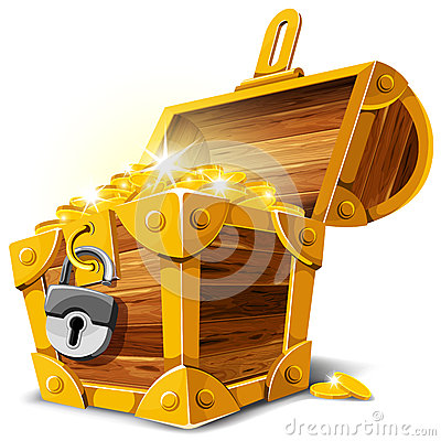 Free Treasure Chest Royalty Free Stock Photo - 25489445