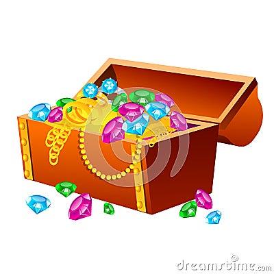 Free Treasure Chest Royalty Free Stock Image - 33342836