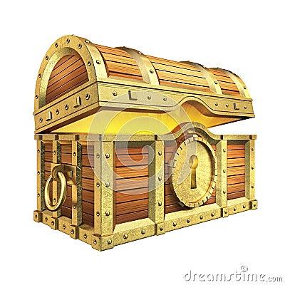Free Treasure Chest Stock Image - 40171441