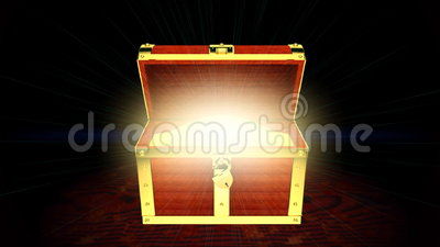 Treasure Chest Stock Footage Video Of Chestnut Golden