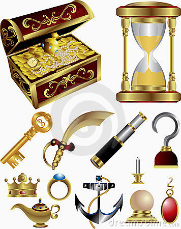 Treasure Fairy Tale Elements