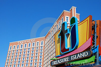 Treasure Island Casino Editorial Photography