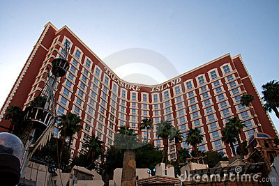 Treasure Island Hotel and Casino Editorial Stock Image