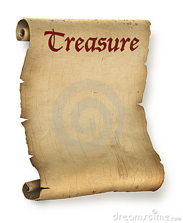 Free Treasure Map Stock Photo - 12349860