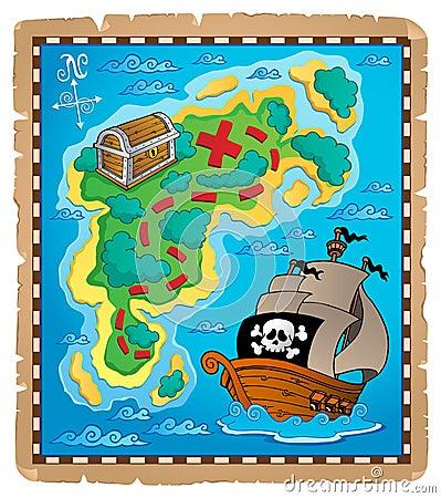 Treasure map theme image 2
