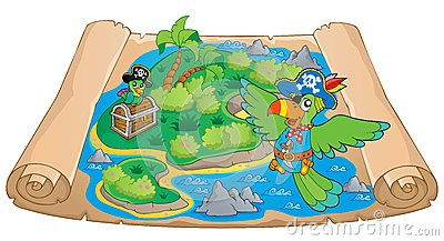 Treasure map theme image 6