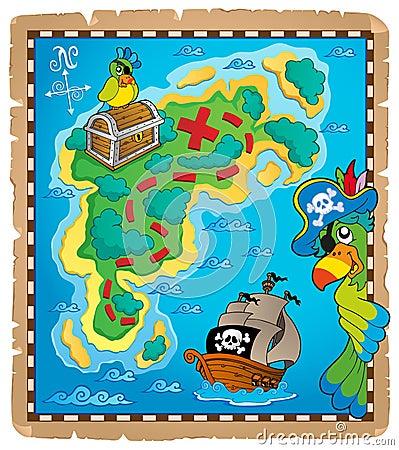Treasure map topic image 9