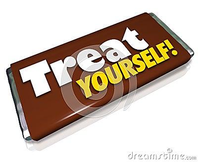 Treat Yourself Chocolate Candy Bar Indulgence