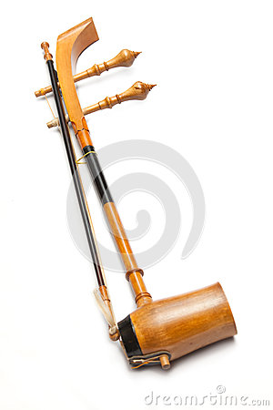 Free Treble Fiddle Or Soprano Sounded String Thai Music Instrument Royalty Free Stock Photography - 44994987