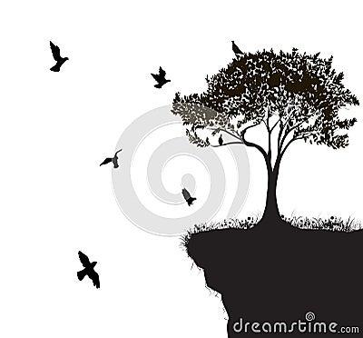 Free Tree Bird Royalty Free Stock Images - 62388419