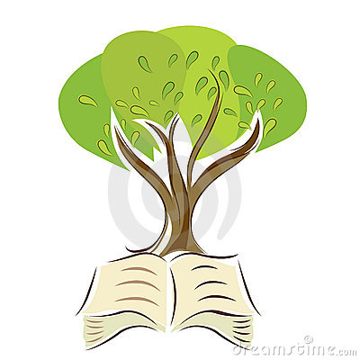 Tree with book