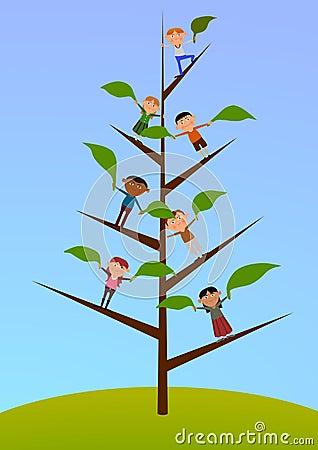 Tree of children
