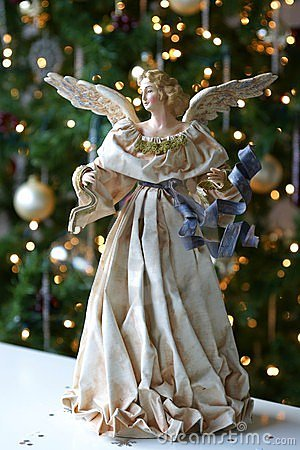 Free Tree Christmas Xmas Angel Stock Images - 11951054
