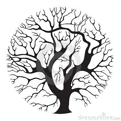 Free Tree-circle Royalty Free Stock Photo - 22037185