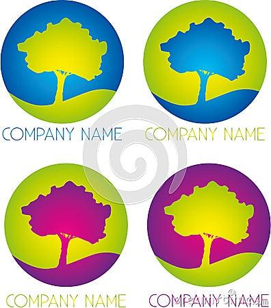 Tree company logo