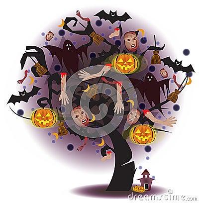 Tree of Horror (Halloween)