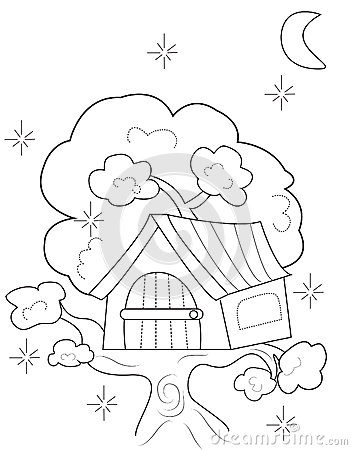 Kids Tree House Drawing design a treehouse. design. home plan and house design ideas