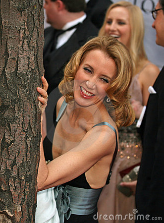 Tree-hugger Felicity Huffman Editorial Photo