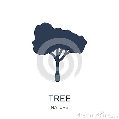Tree icon. Trendy flat vector Tree icon on white background from Vector Illustration