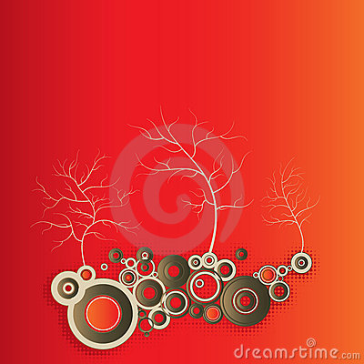 Tree illustration graphic