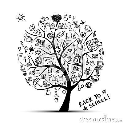 Tree of knowledge, concept of school
