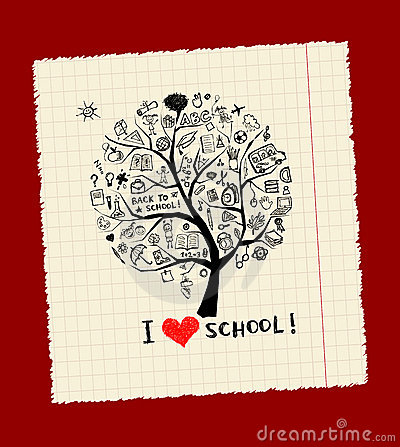 Tree of knowledge, concept of school