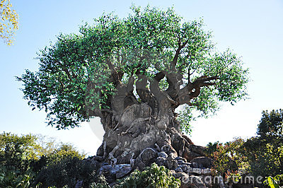 Tree of Life in Disney Animal Kingdom Editorial Photo