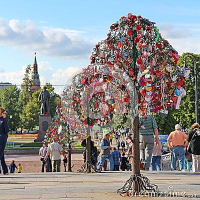 Tree of Love Editorial Image