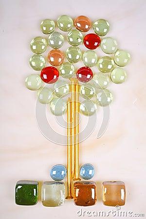 Free Tree Mosaic Stock Images - 4243894