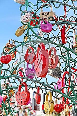 Free Tree Of Love Stock Image - 32703581
