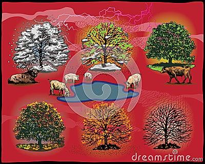 Tree phases