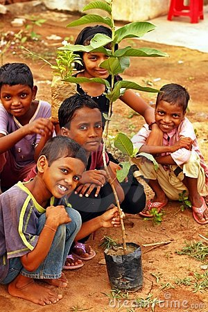 Tree plantation drive on World Environment Day Editorial Photography