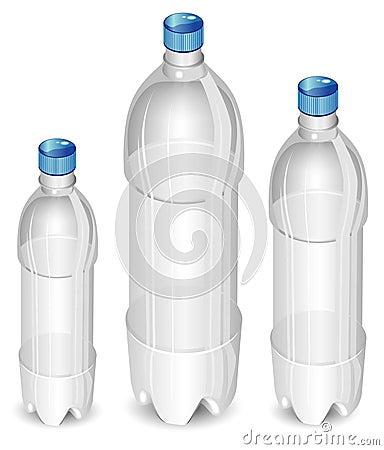 Tree plastic bottles