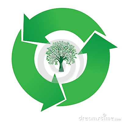 Tree and recycling