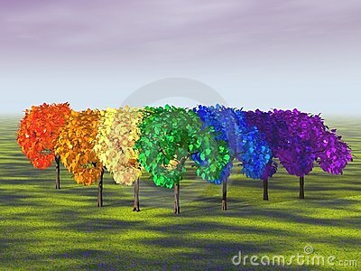 Tree shaped Rainbow