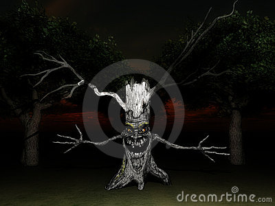 Tree Spook 8