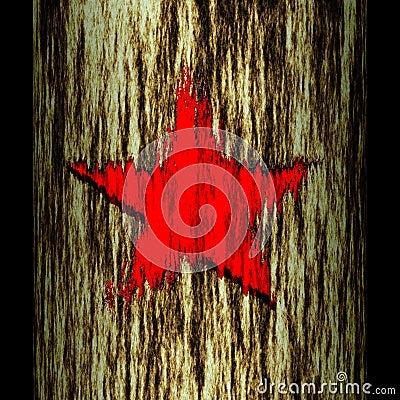 Tree trunk: star