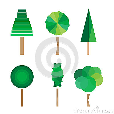 Free Tree Vector Illustration Royalty Free Stock Images - 93599749