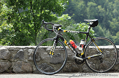 Trek bicycle Editorial Stock Image