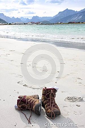 Treking shoes  outdoors