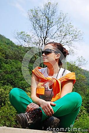 Trekker girl