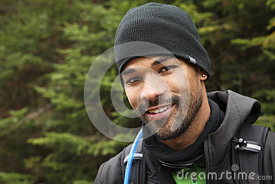 Trekker s portrait