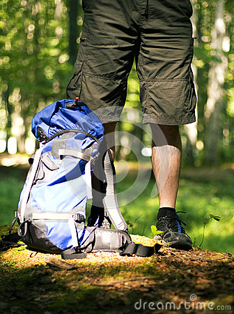 Trekking backpack