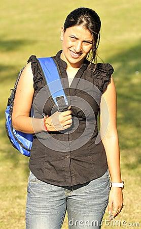 Trekking girl