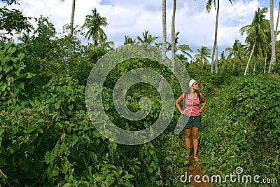 Trekking through the jungle 2