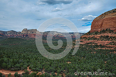 Trekking in Sedona, Arizona, USA