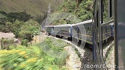 Trem em Peru